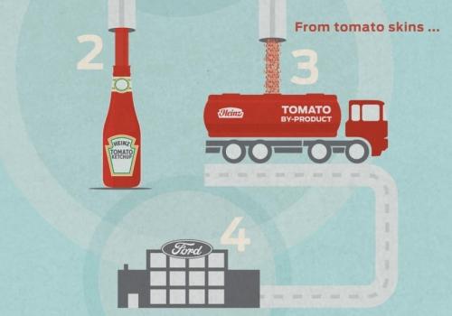 Ντομάτες στο αυτοκίνητο
