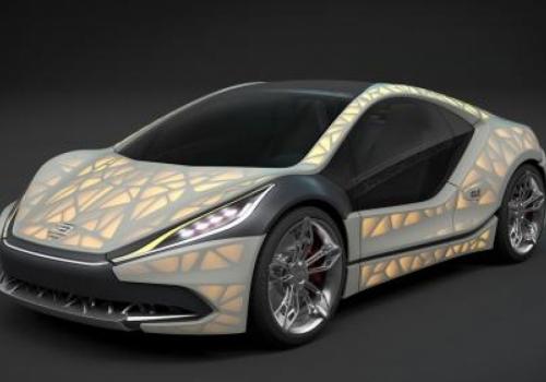 Αυτοκίνητο με αμάξωμα από ύφασμα