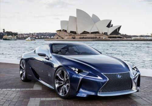 Το Lexus LF-LC στην παραγωγή