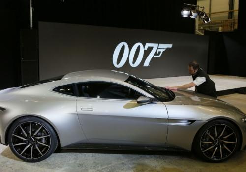 Το νέο αυτοκίνητο του James Bond